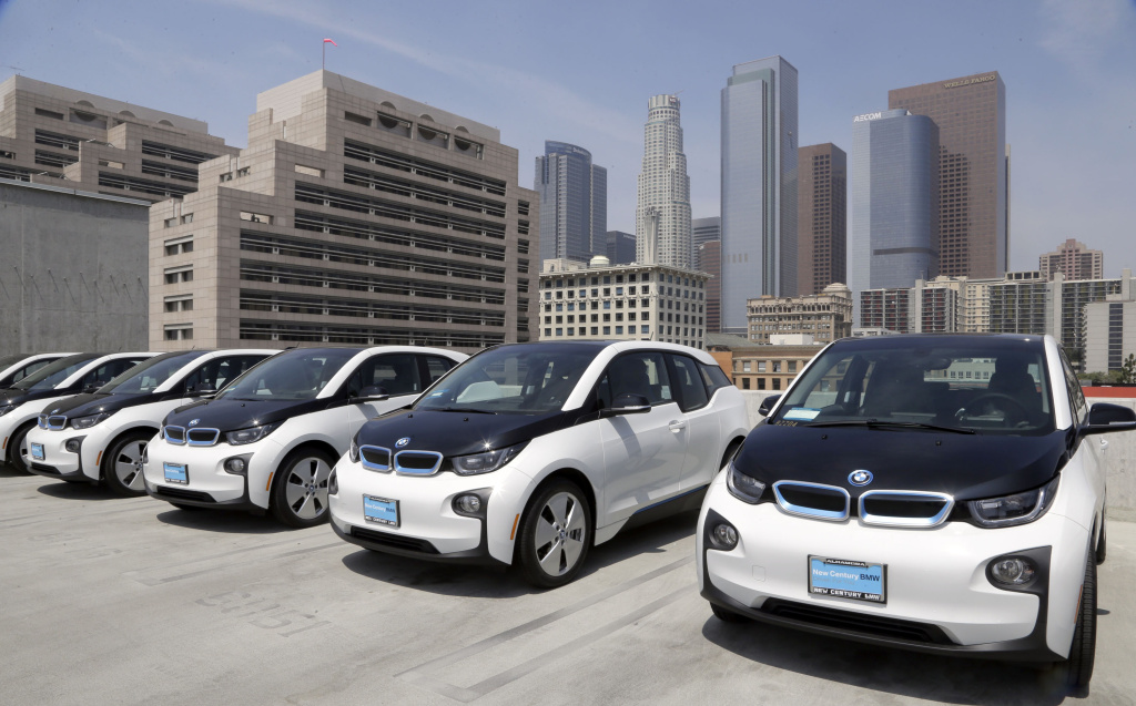 Why should cities invest in gasoline-powered fleet vehicles that will continue emitting carbon dioxide and air pollution for many years, when cleaner electric alternatives are available?