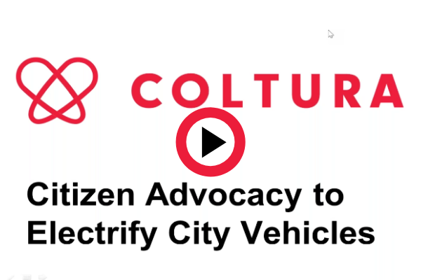 Watch Coltura's webinar to learn more about electrifying city fleets.