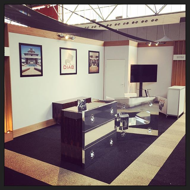 All set up at #mets2017 come and see our hinge range for #superyacht #interior and #exterior #joinery and #cabinetry here at stand 11.712