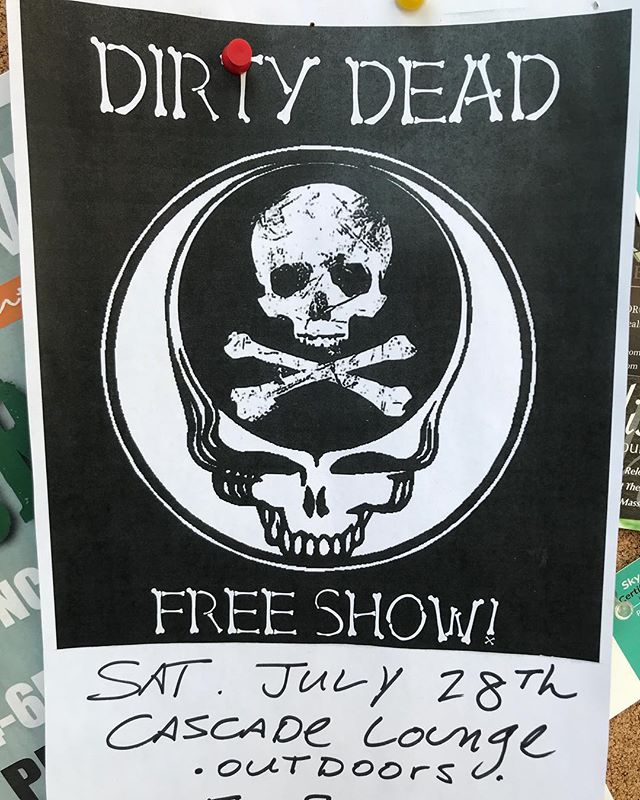 The Dirty Dead plays the Backyard stage tonight starting at 5:00pm. #avlbeats #avlmusic #livemusic #westashevillelife #backyardboogie #neighborhoodbar #freeshow