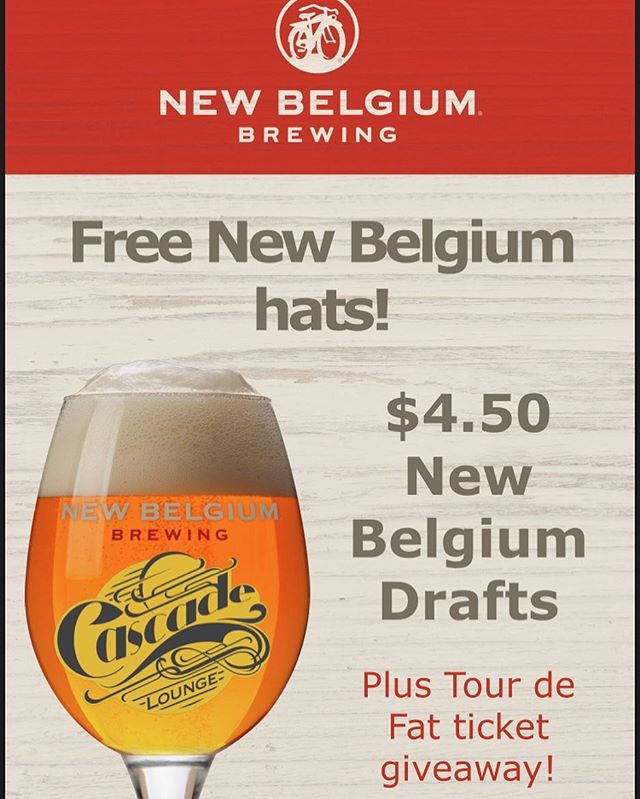 Start August 1st off right with our Tap takeover from our friends at @newbelgium_avl Rangers onsite making sweet lids for your heads and cool beer for your bellies! 6:00pm to 9:00pm #neighborhoodbar #pintnight #coolswag #westashevillelife #welovenewbelgium #avlimbibe #firepitnight