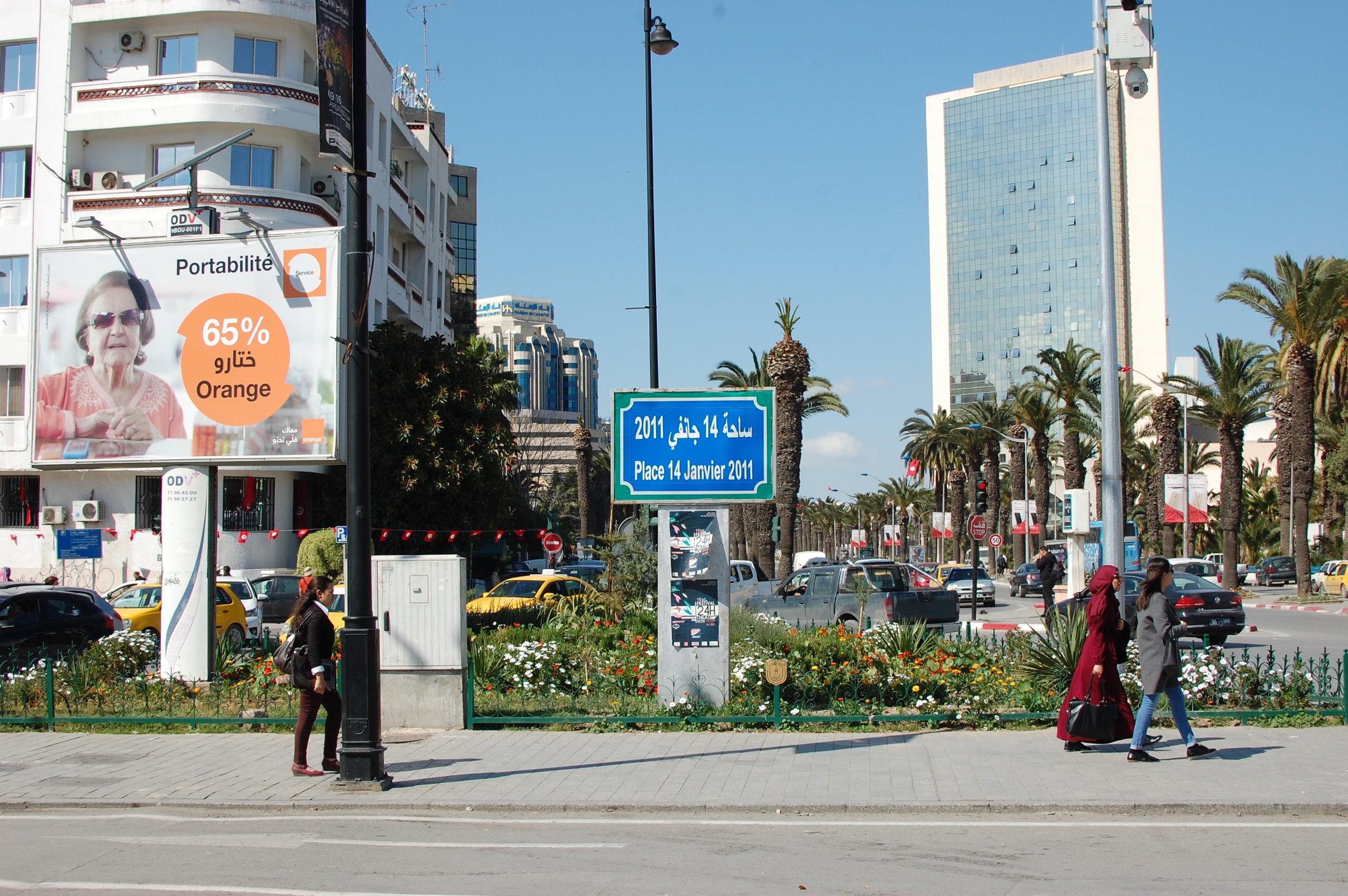 Photograph provided by Mariem Chalouati, MEII Tunisia Staff.