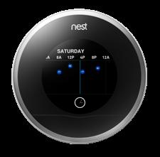 Figure 1 Nest smart thermostat