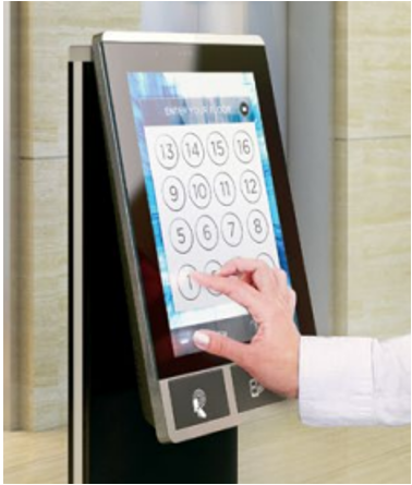 Figure 7. Example of a modern elevator control from thyssenkrupp.