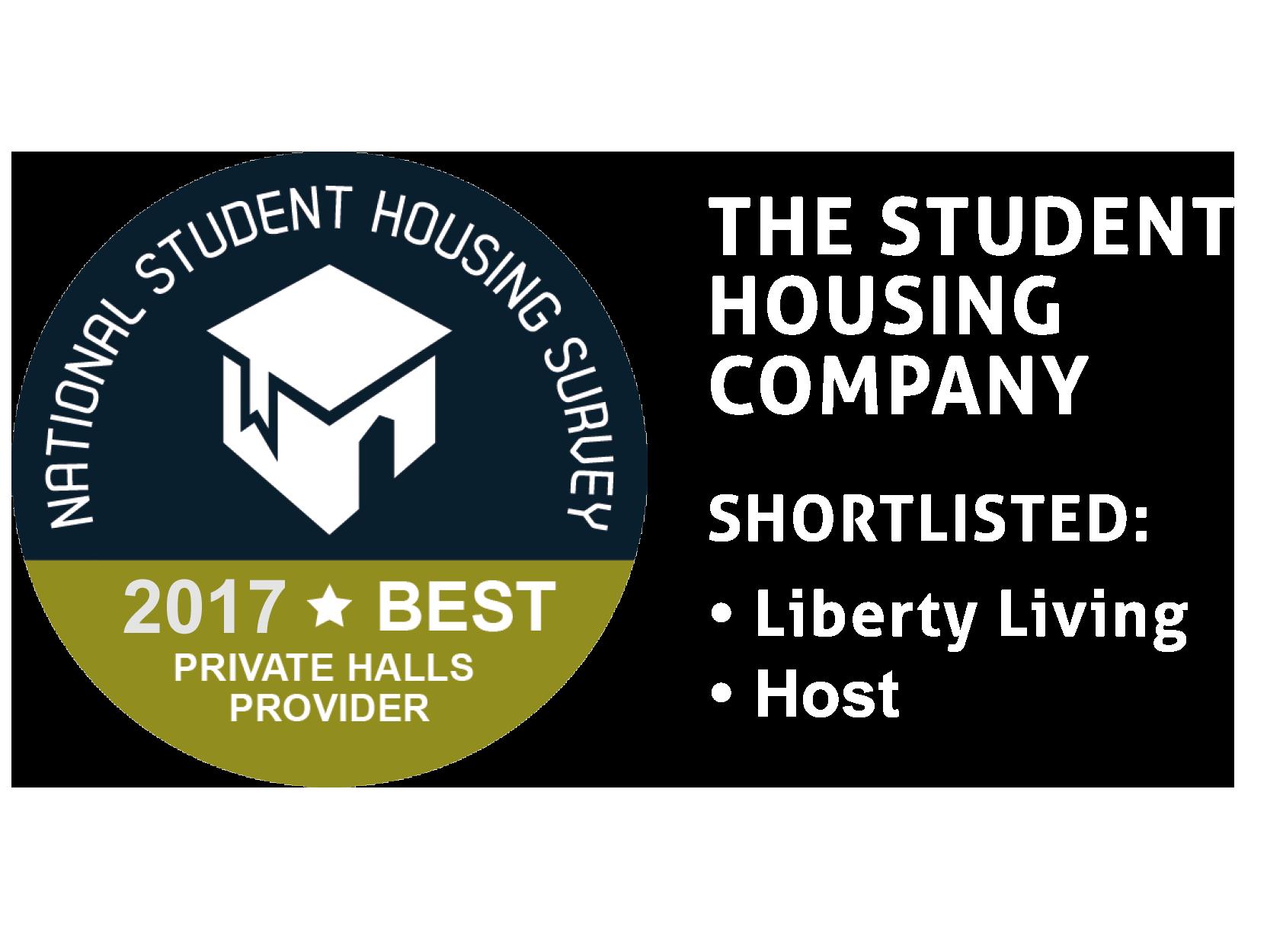 National Student Housing Survey - Best Private Halls Provider