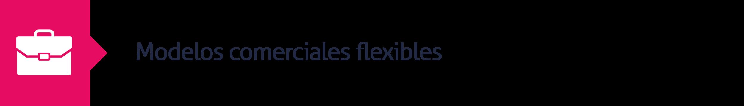 10.Modelos comerciales flexibles