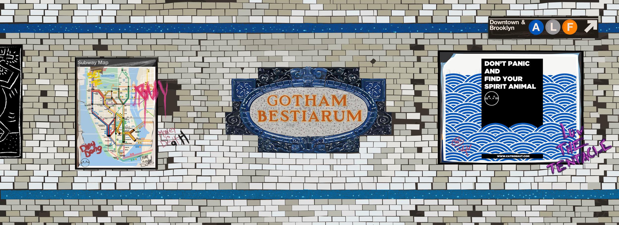 Gotham Bestiarum Banner