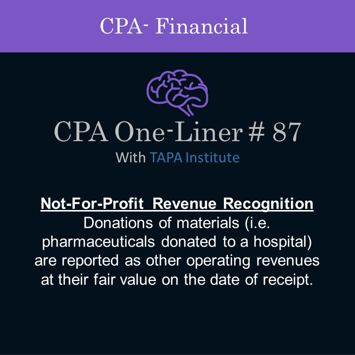 FAR - CPA One-liner - Not for profit revenue recognition- 01287.jpg