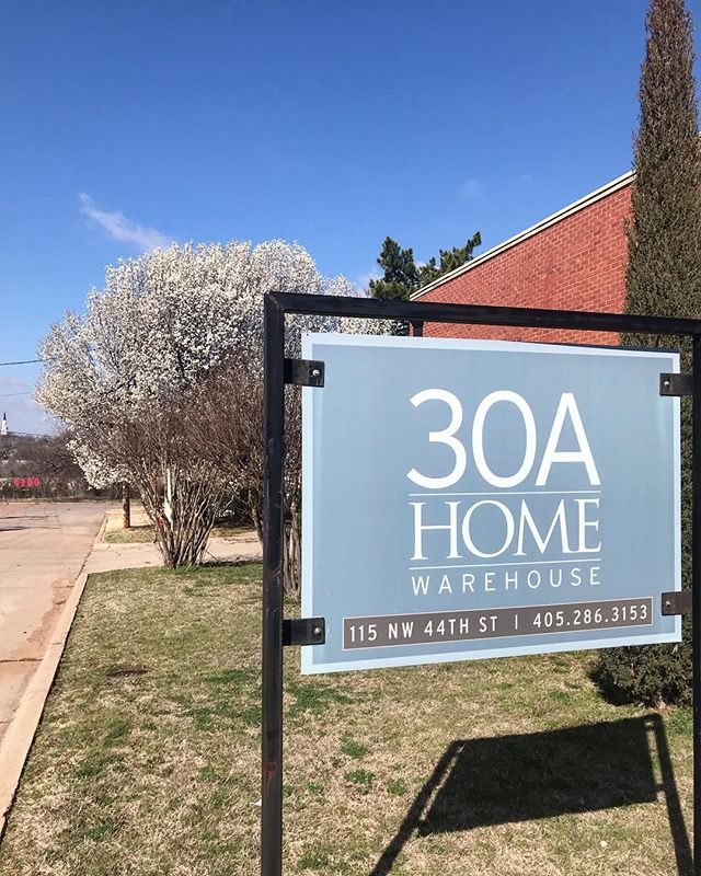 Spring is here at 30A! Come by and browse our sale + find new pieces to freshen up your home 🌷 . . . #oklahomainteriordesign #30ahome #antique #antiquefinds #spring #springbreak #springcleaning