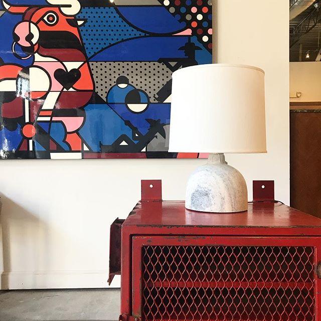 Wondering where you can see more @goad_art pieces? Come have a look in our showroom! . . . #oklahomainteriordesign #30ahome #mattgoadart #oneofakind #art #antiquefinds