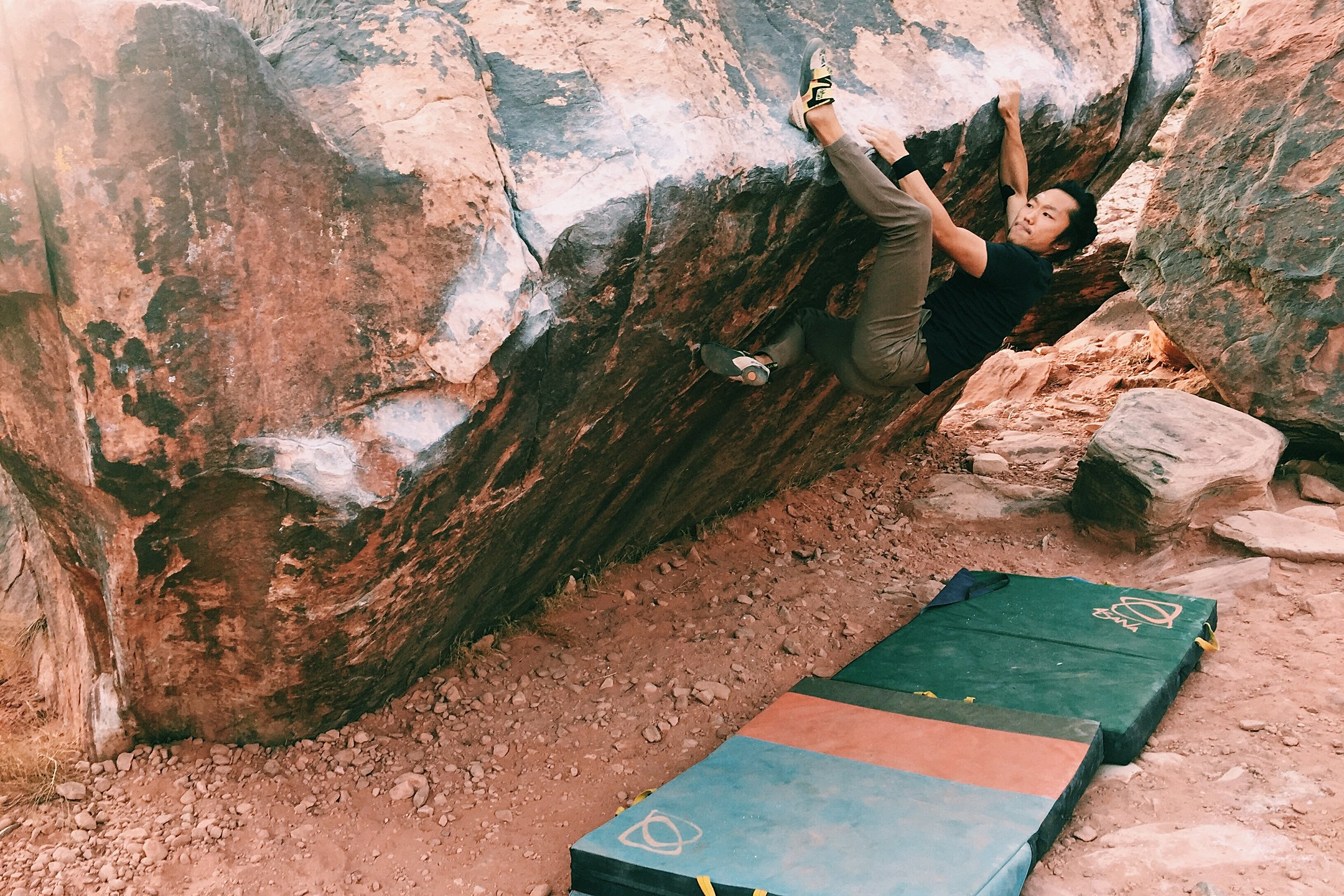 Thomas Moon in Red Rocks. Photo Credit Evelyn Jong