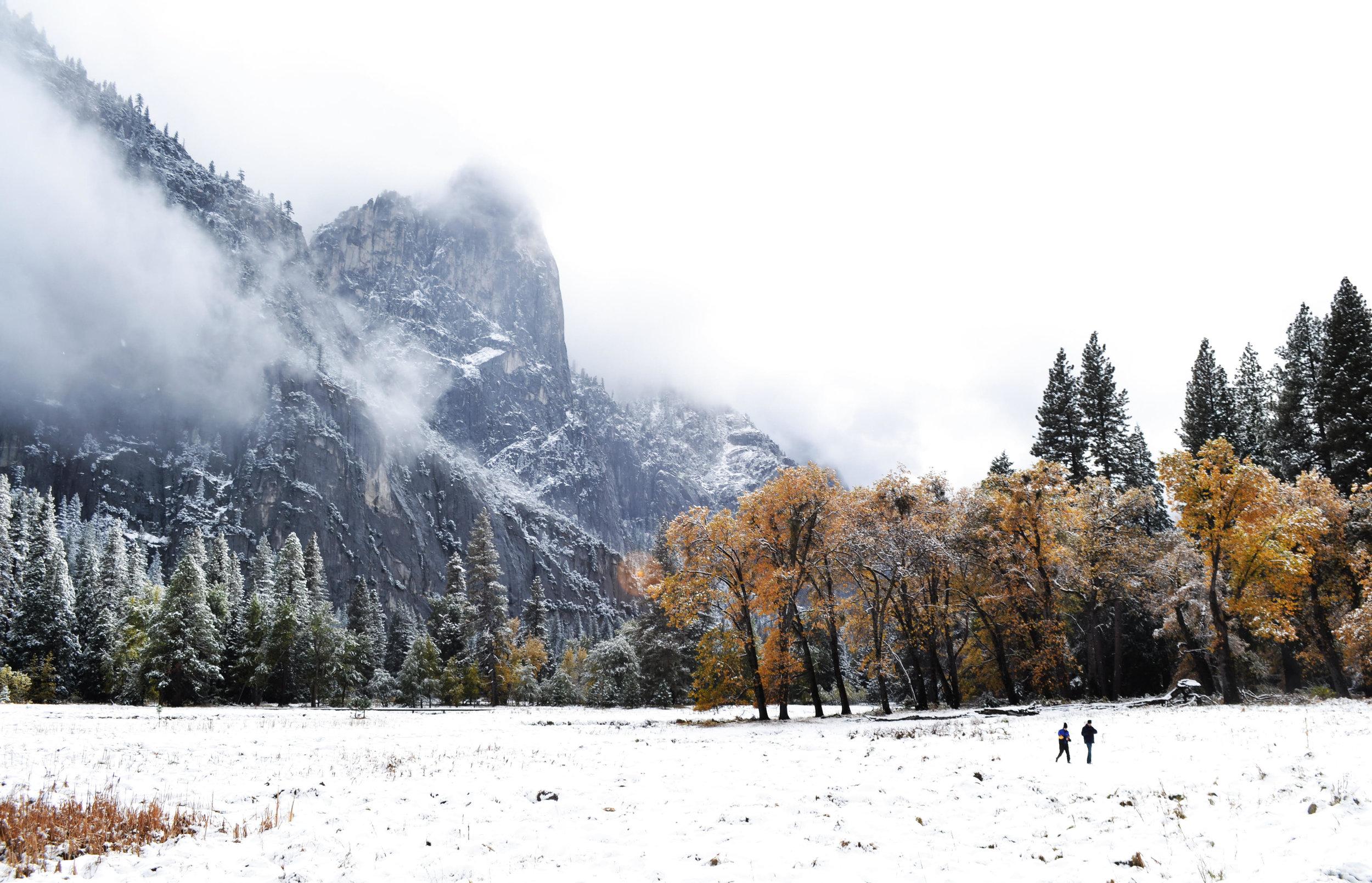 Yosemite Valley in November Photo: David Mason