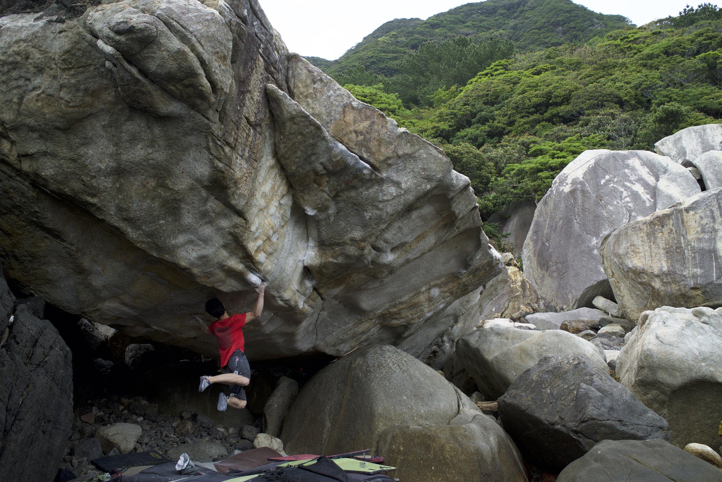 Nami no Aya,V14, Yakushima, Kagoshima Pref, Japan. Photo:Yoshiko Saito