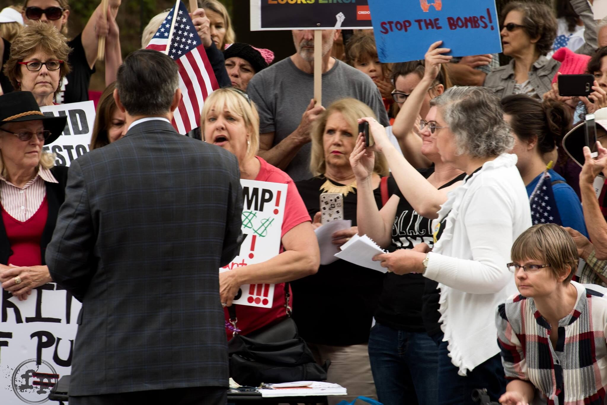 More from Issa Office Rally - Vista - April 18, 2017