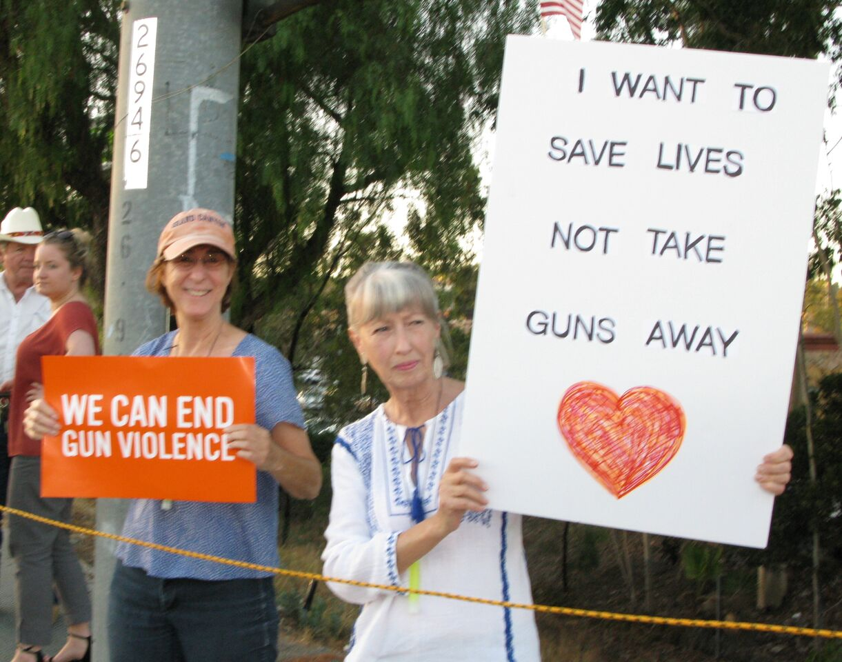 Gun Control Rally - Escondido - October 6, 2017
