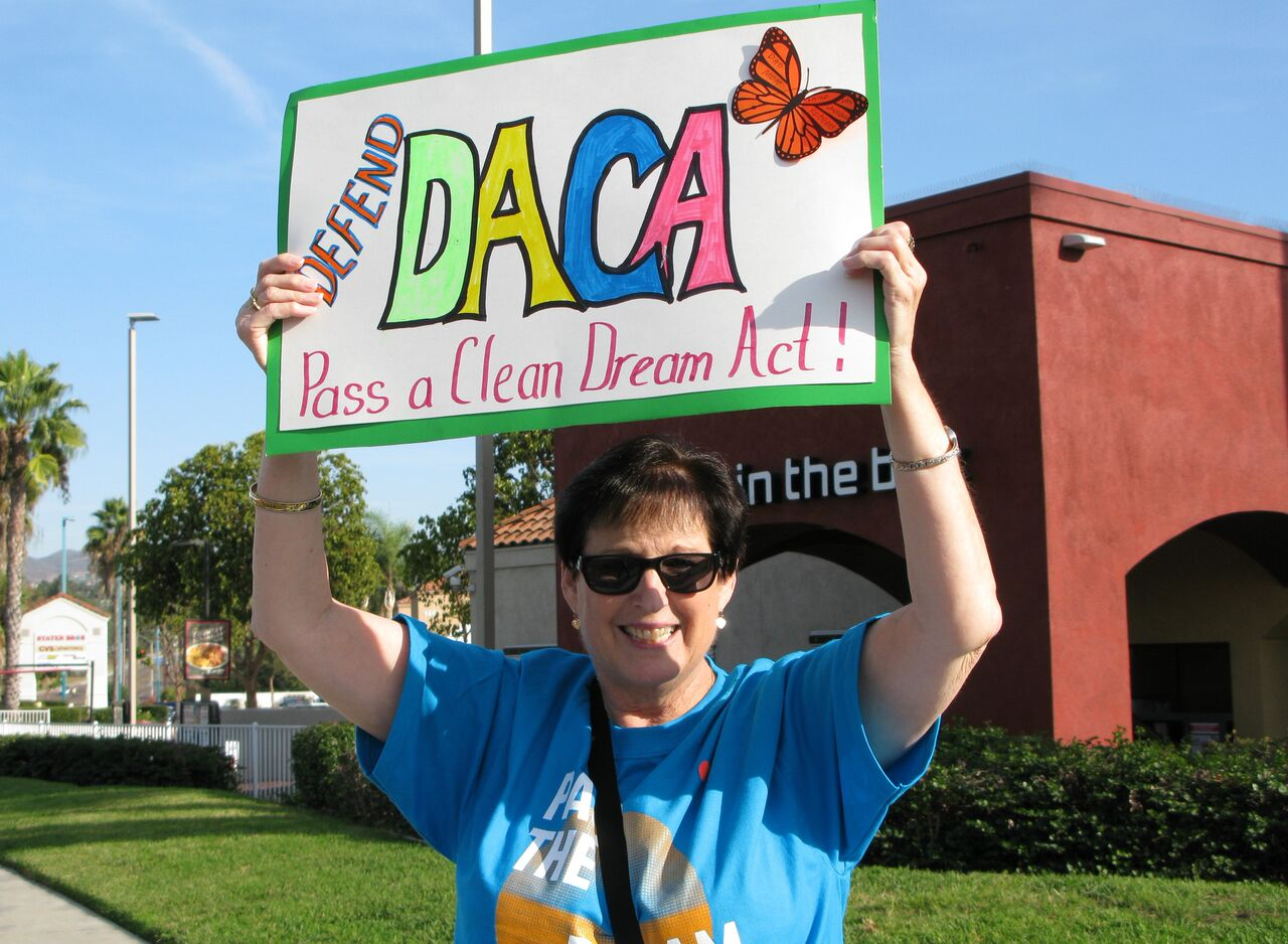 ACLU Defend DACA Rally - Vista - December 2, 2017
