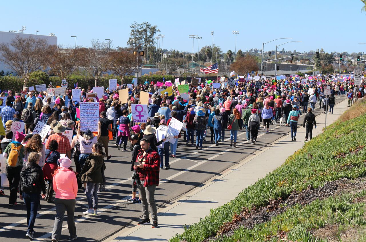 Women's March - San Marcos - January 20, 2018