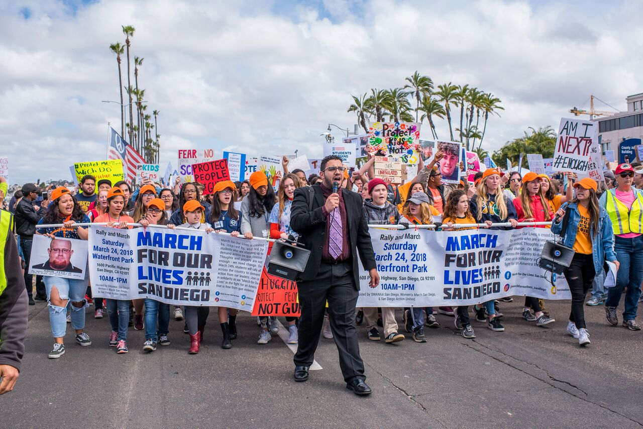 March for Our Lives - San Diego - March 24, 2018