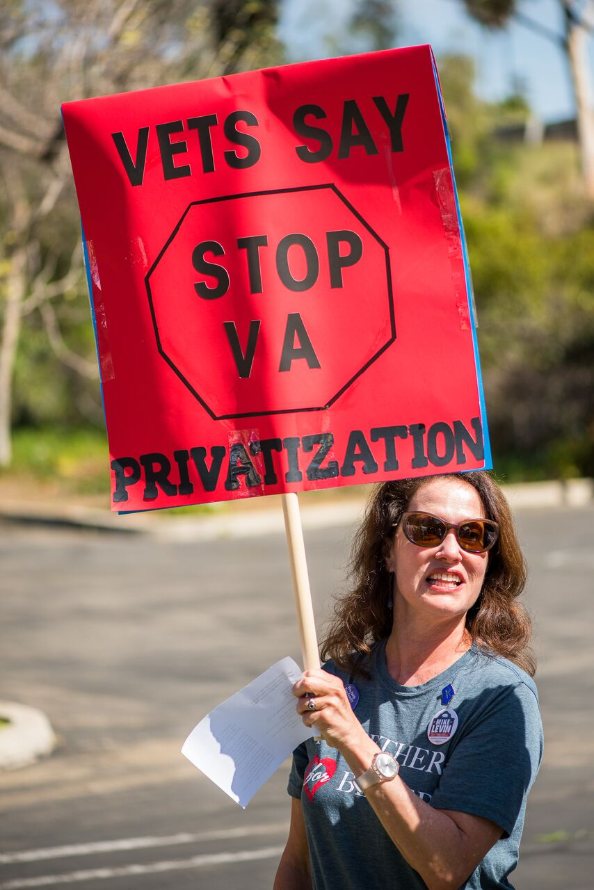Save The VA Rally - Vista - April 10, 2018