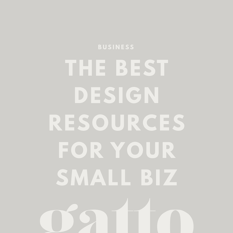 Design Resources | Creative Business | Branding & Website Design | Small Biz