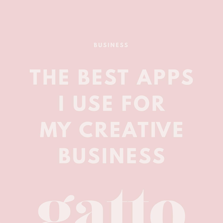 Best Apps for Creative Business | Branding & Website Design | Small Biz