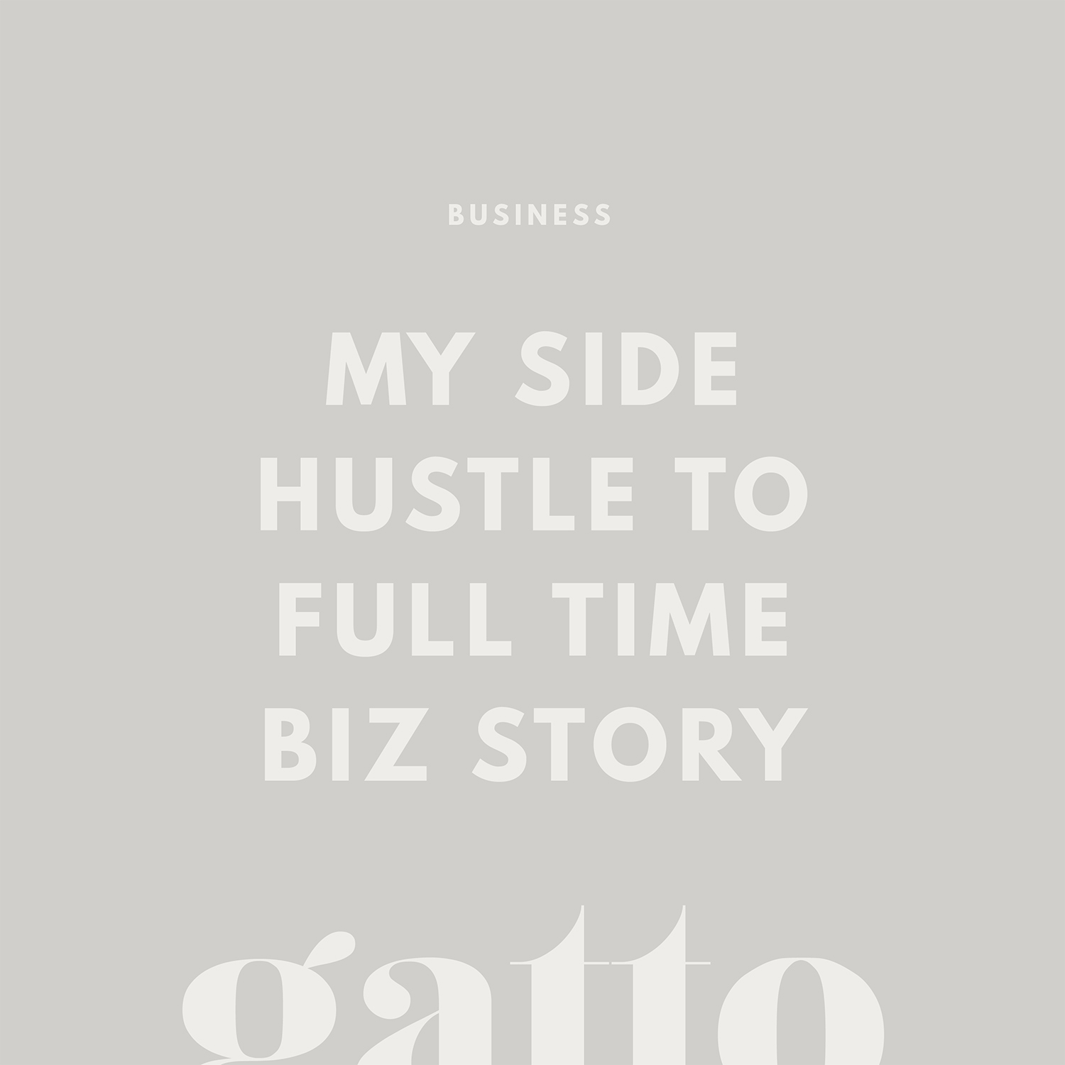 Side Hustle | Freelancing | Branding and website design | Small Biz | Creative Business