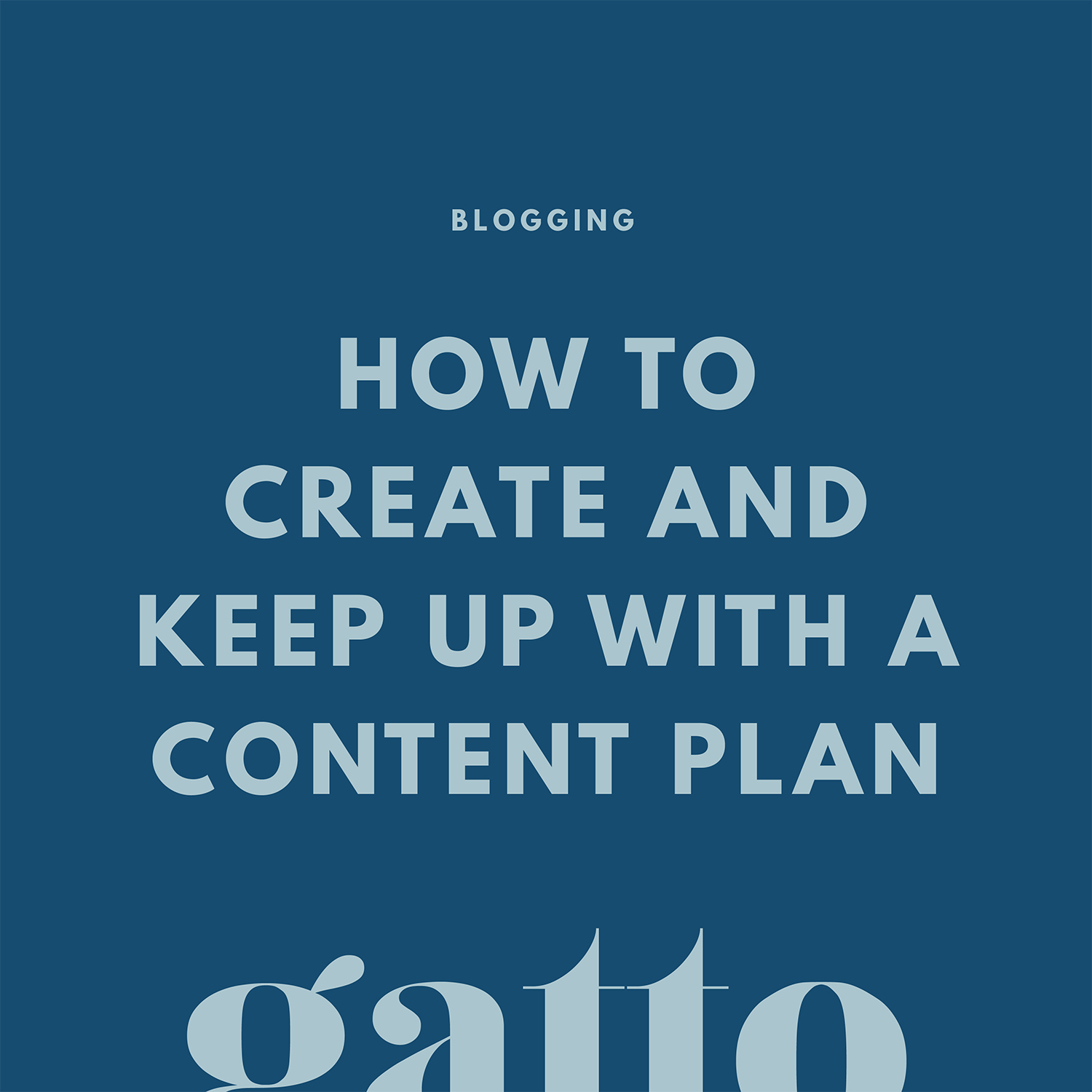 How to Create a Content Plan | Editorial Calendar | Blogging Schedule | Creative Business