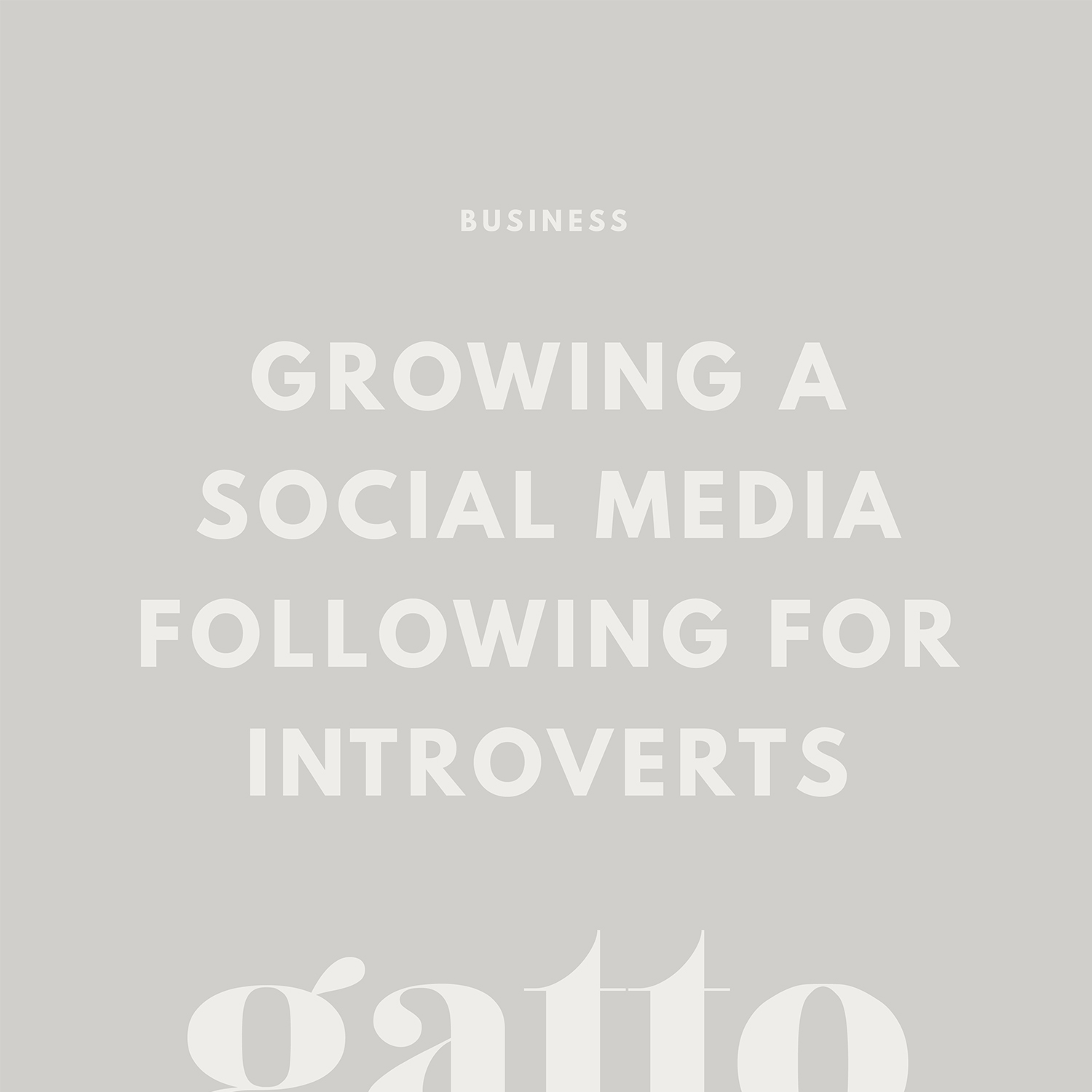 Social Media for Introverts | Social Engagement Tips | Grow a Following | Creative Business