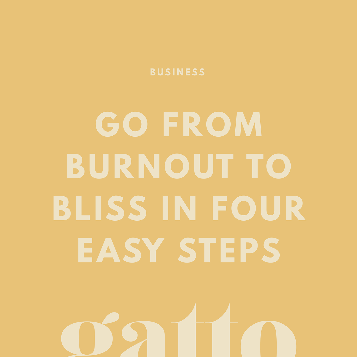 Burnout to Bliss | Free Workbook | Creative Business Advice | Small Biz Owner | Website and Branding Design