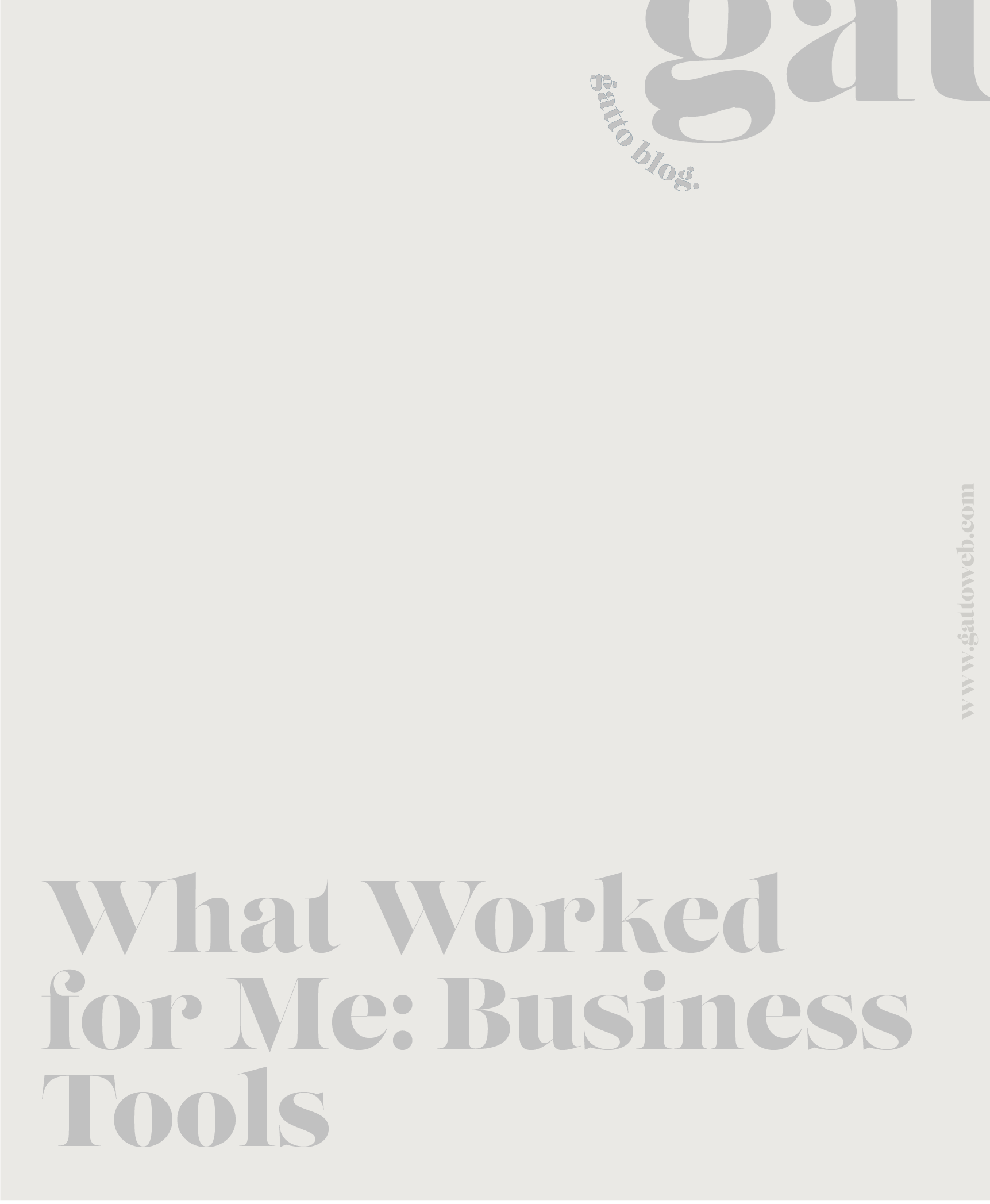 Business Tools That Worked For Me | Online Biz | Creative Designer | Small Business Tips
