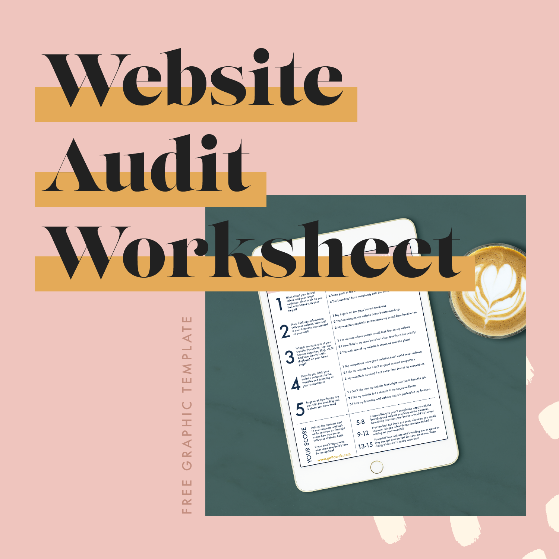 Free Website Audit Workbook | Brand Check Quiz | Gatto Creative Design Studio