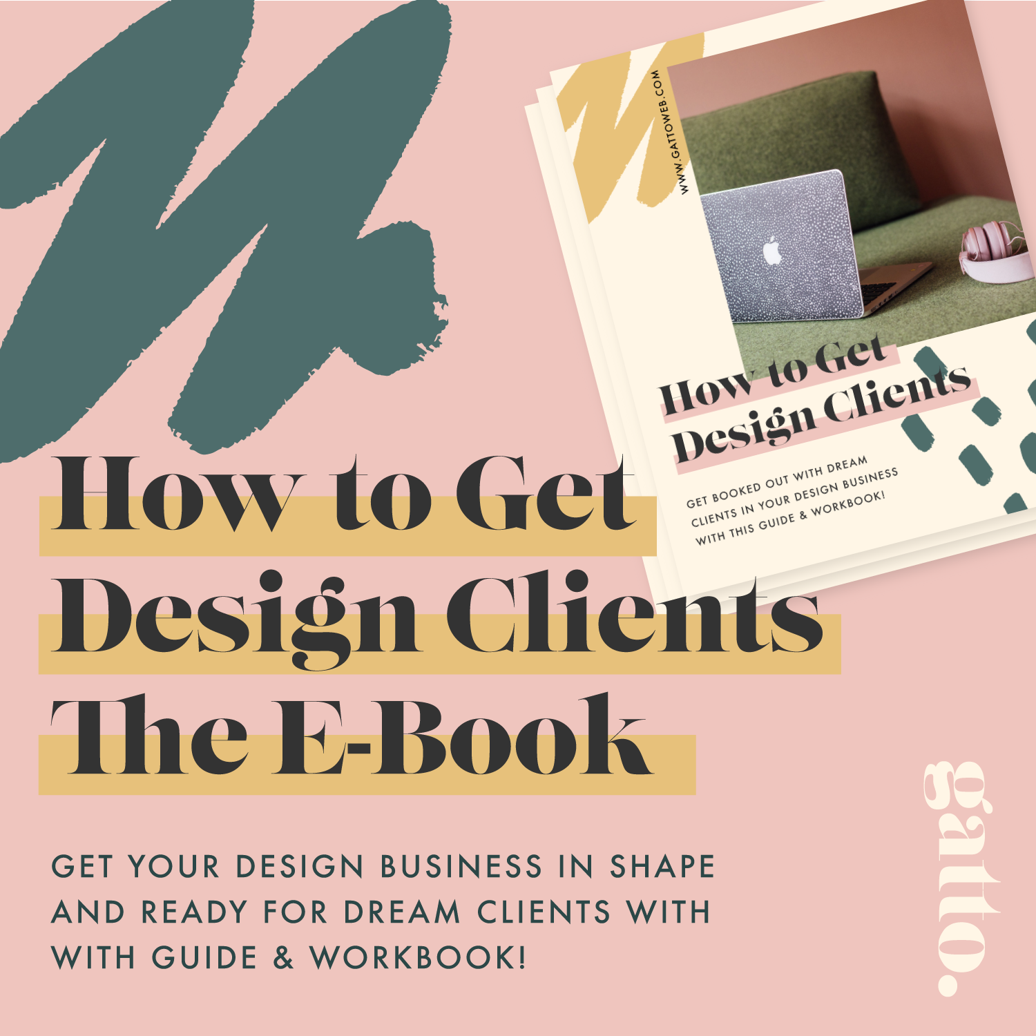 Want more tips to help you get design clients? - I've written an interactive guide and workbook to take you through all the basics and the not-so-basics for setting your design business up for all those dreamy clients to come flooding in!Head over to download the guide now and get your design biz in shape…
