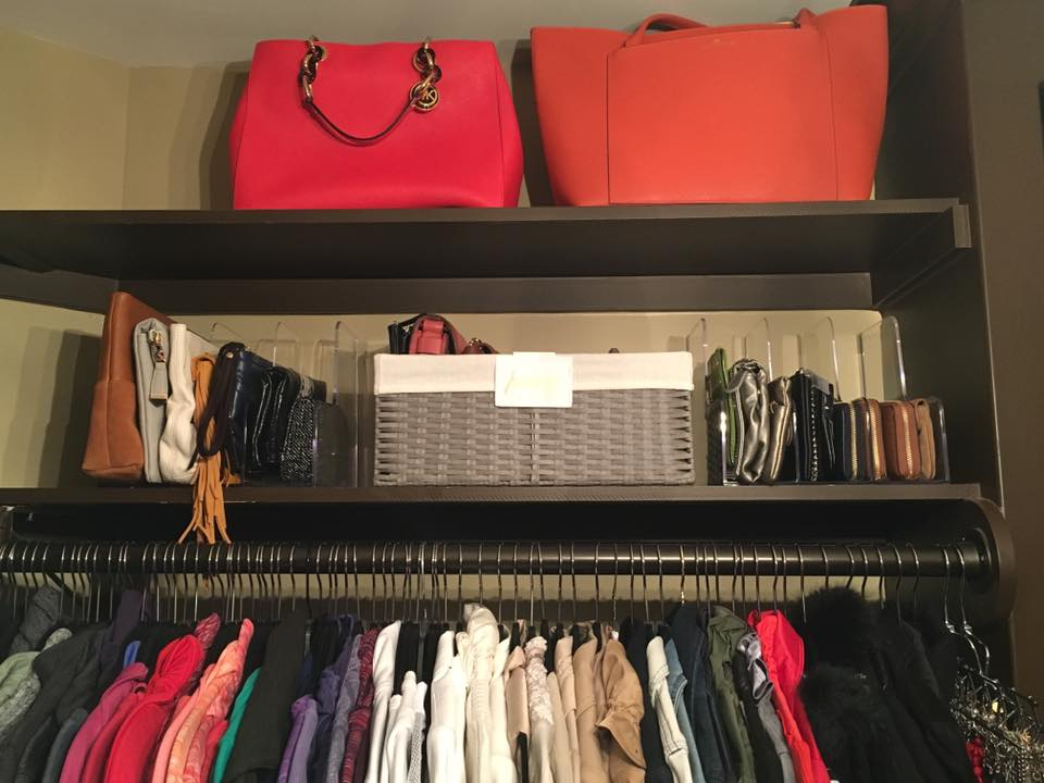 containers in closets