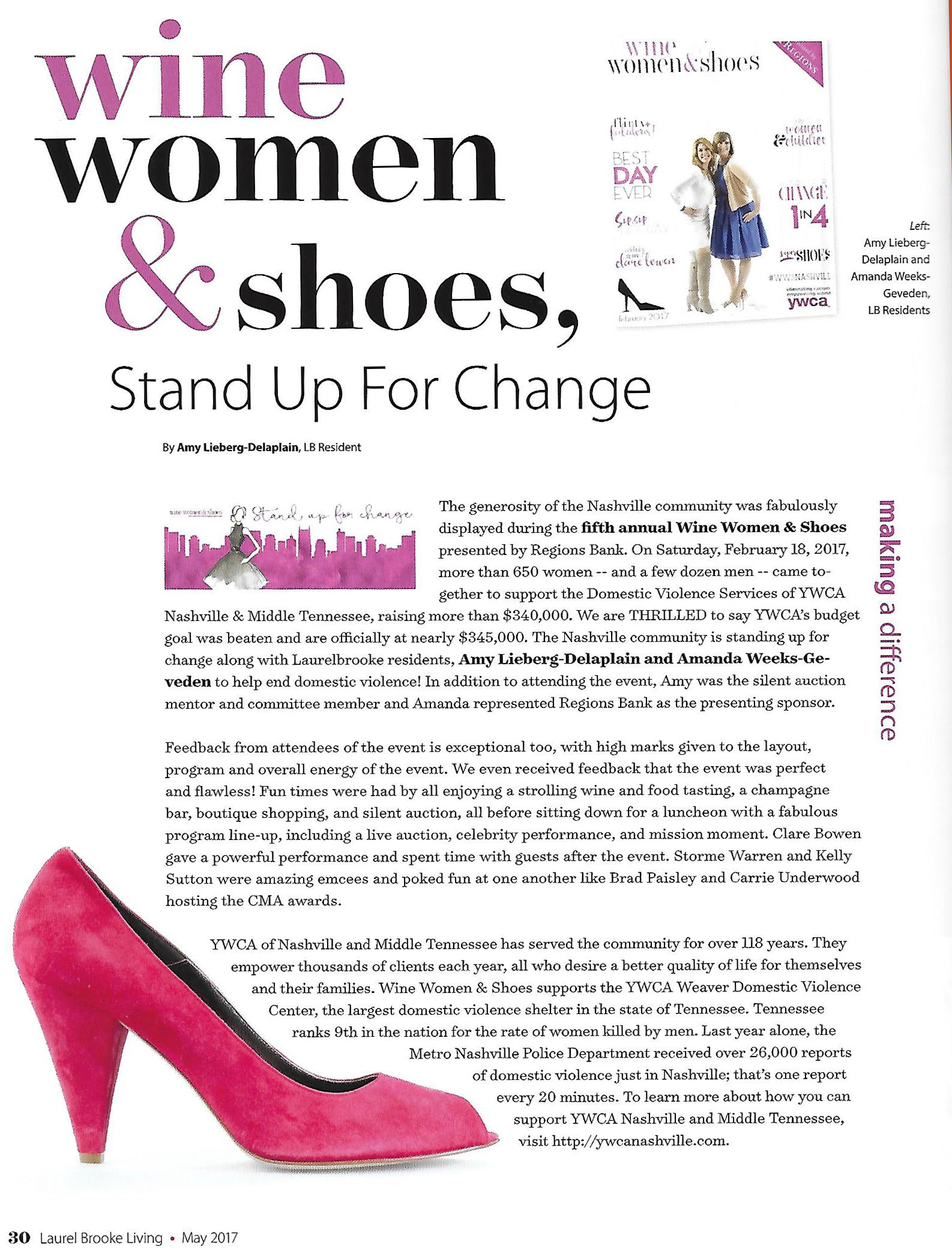 LB article on shoe event.jpg
