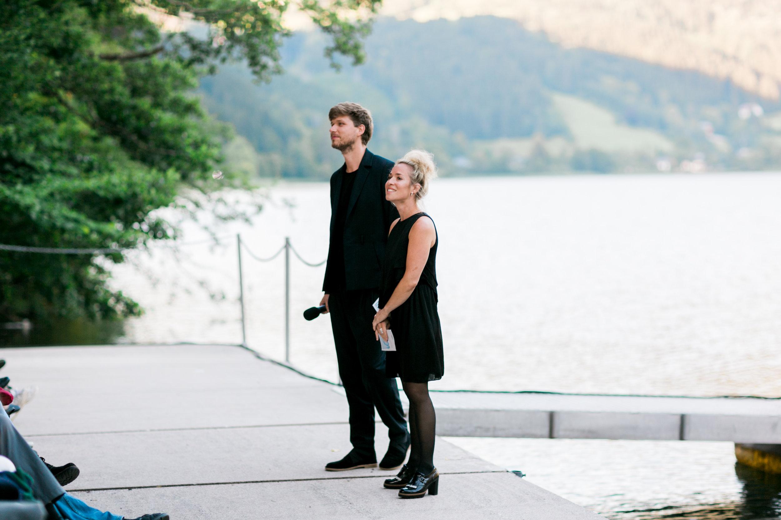 Indentanten Julia Lacherstorfer und Simon Zöchbauer