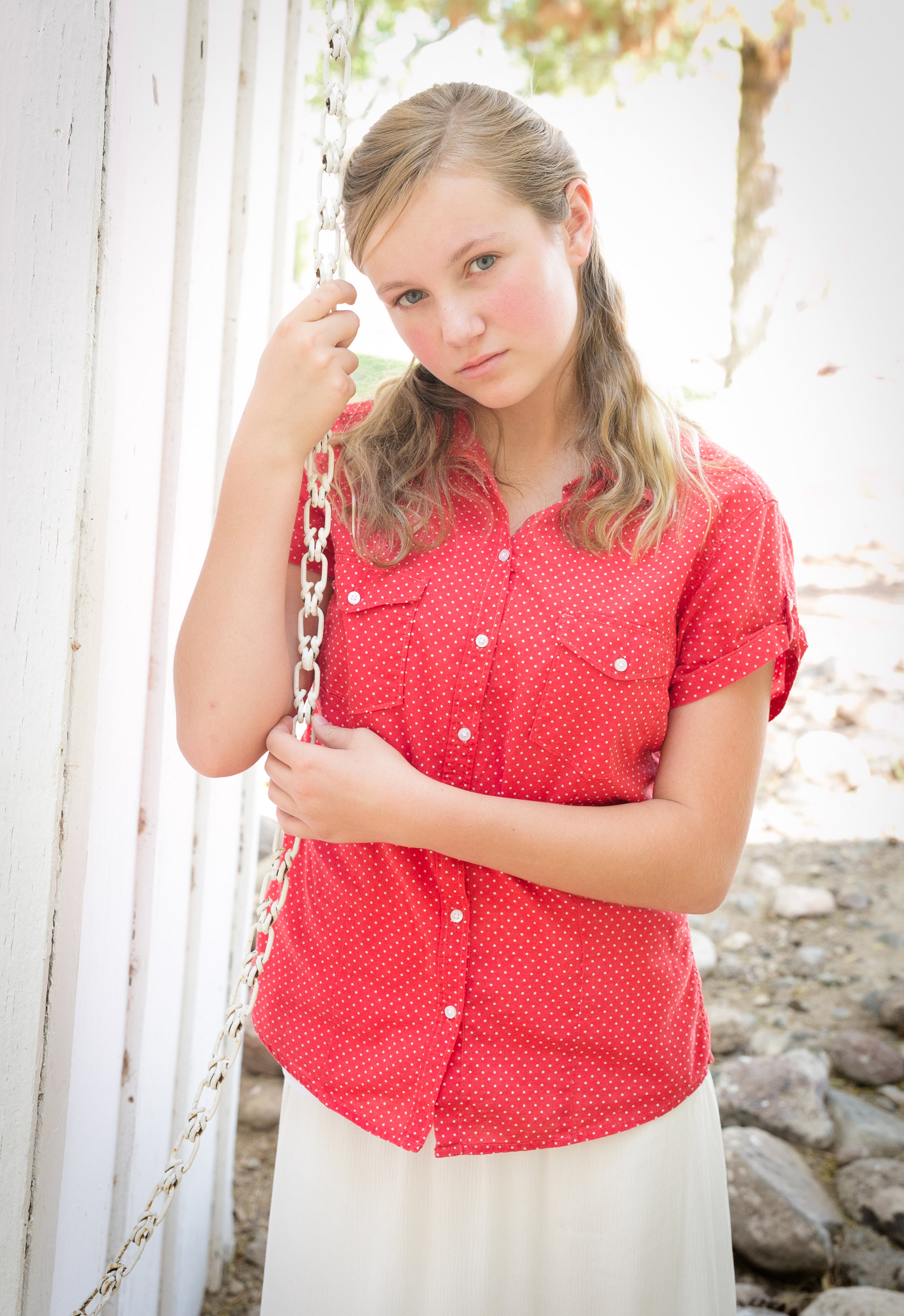 Allison and I had so much fun on her tween session!