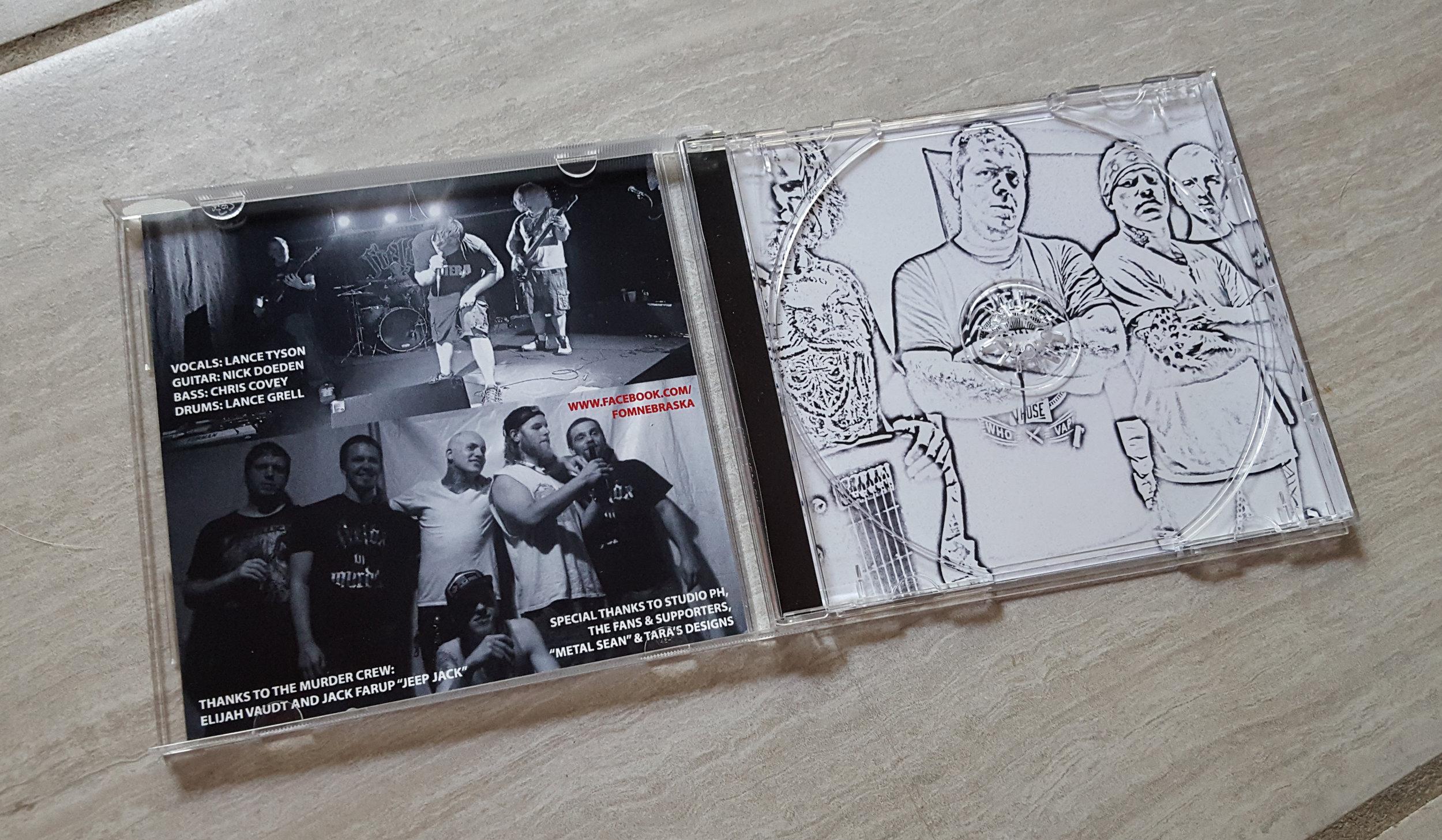 Fields of Murder band CD