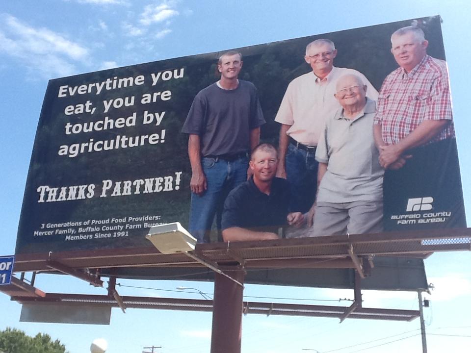 Farm Bureau billboard