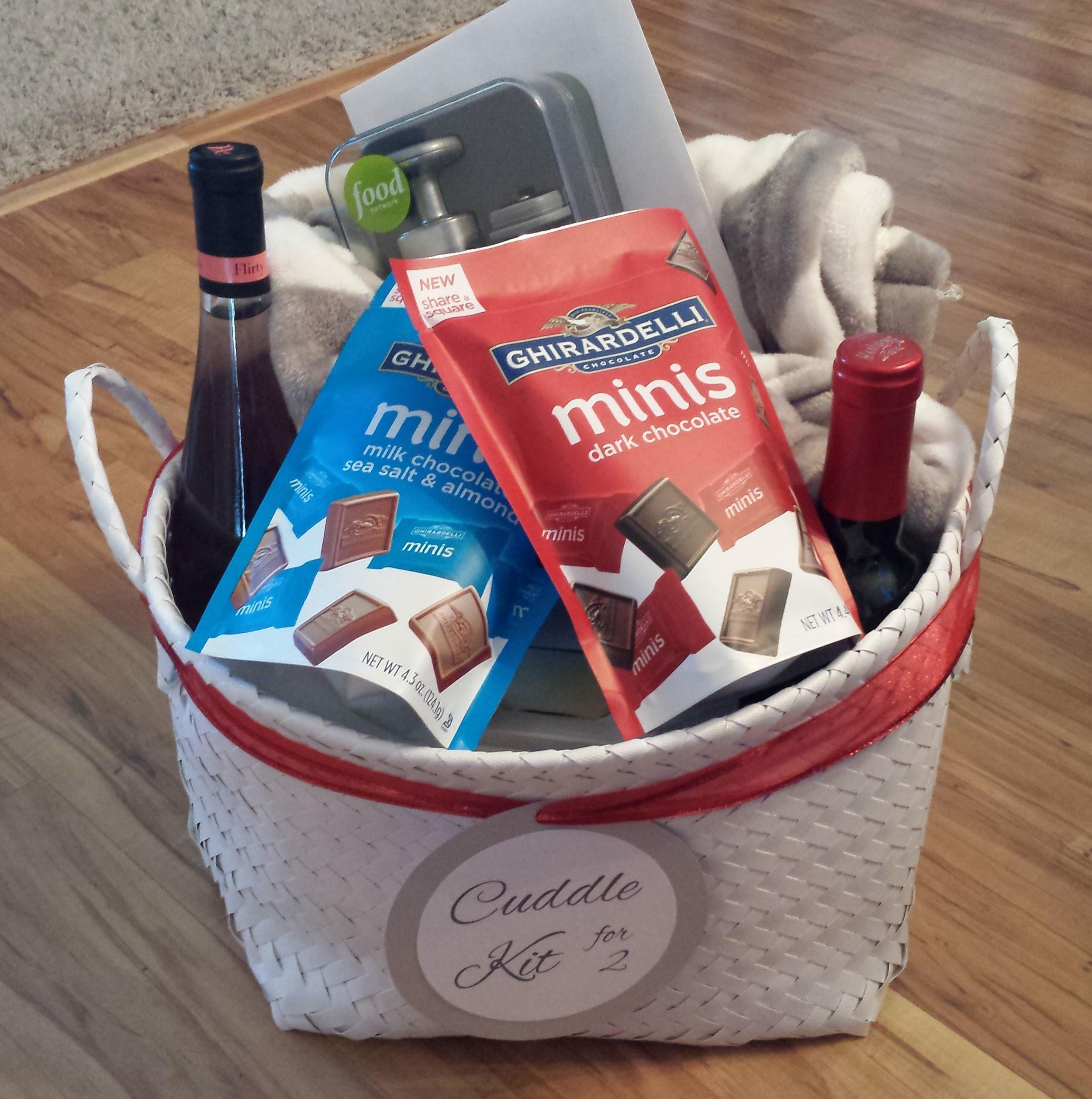 cuddle kit for 2 bridal shower wedding gift