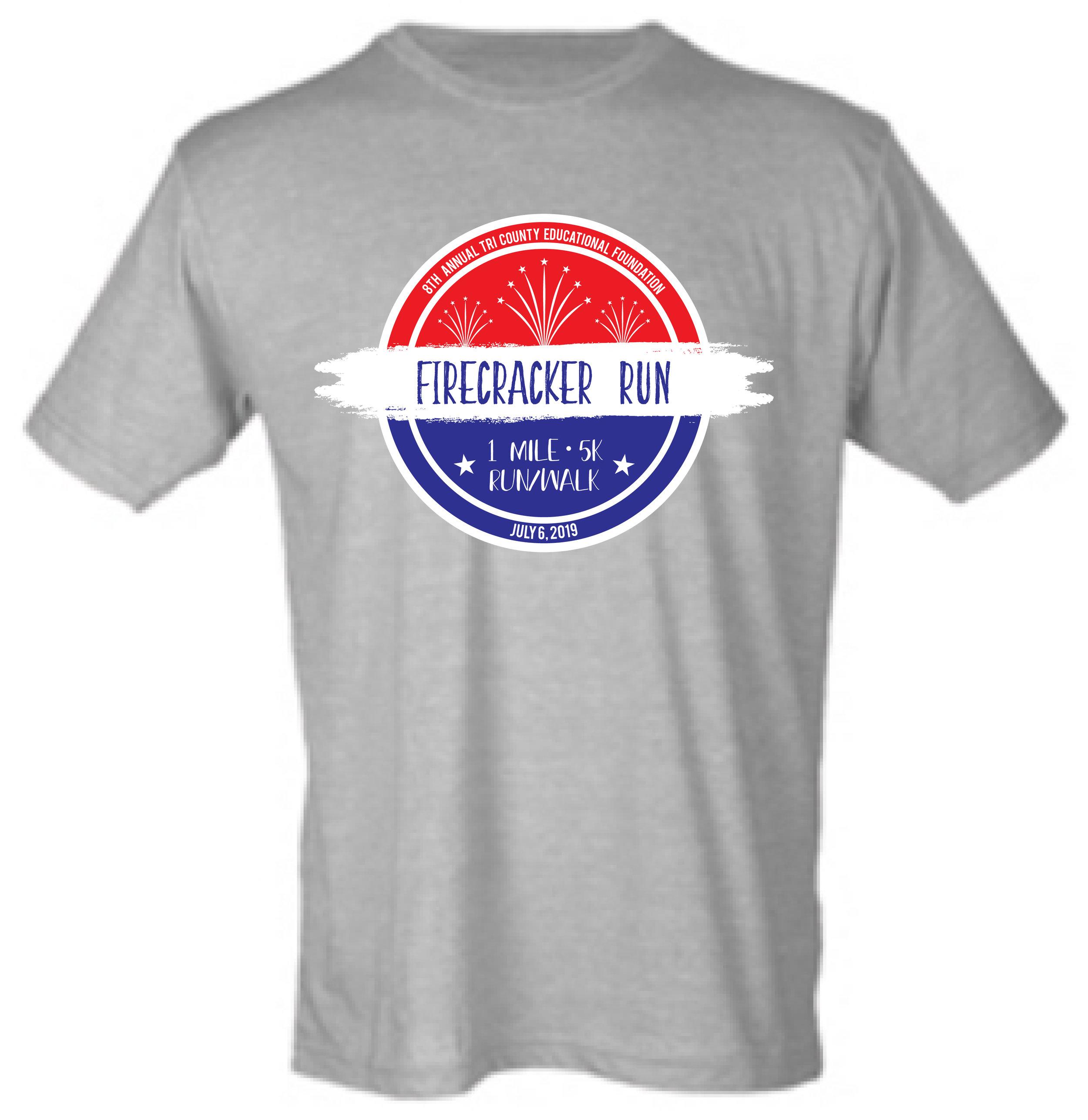 2019 Firecracker Run T-shirt