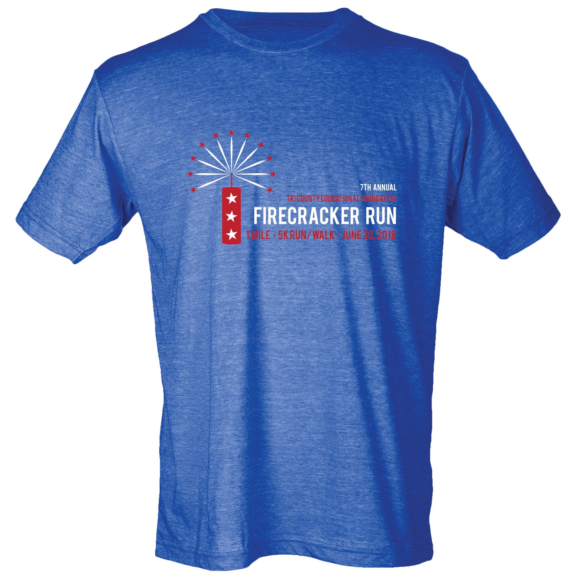 2018 Firecracker Run T-shirt