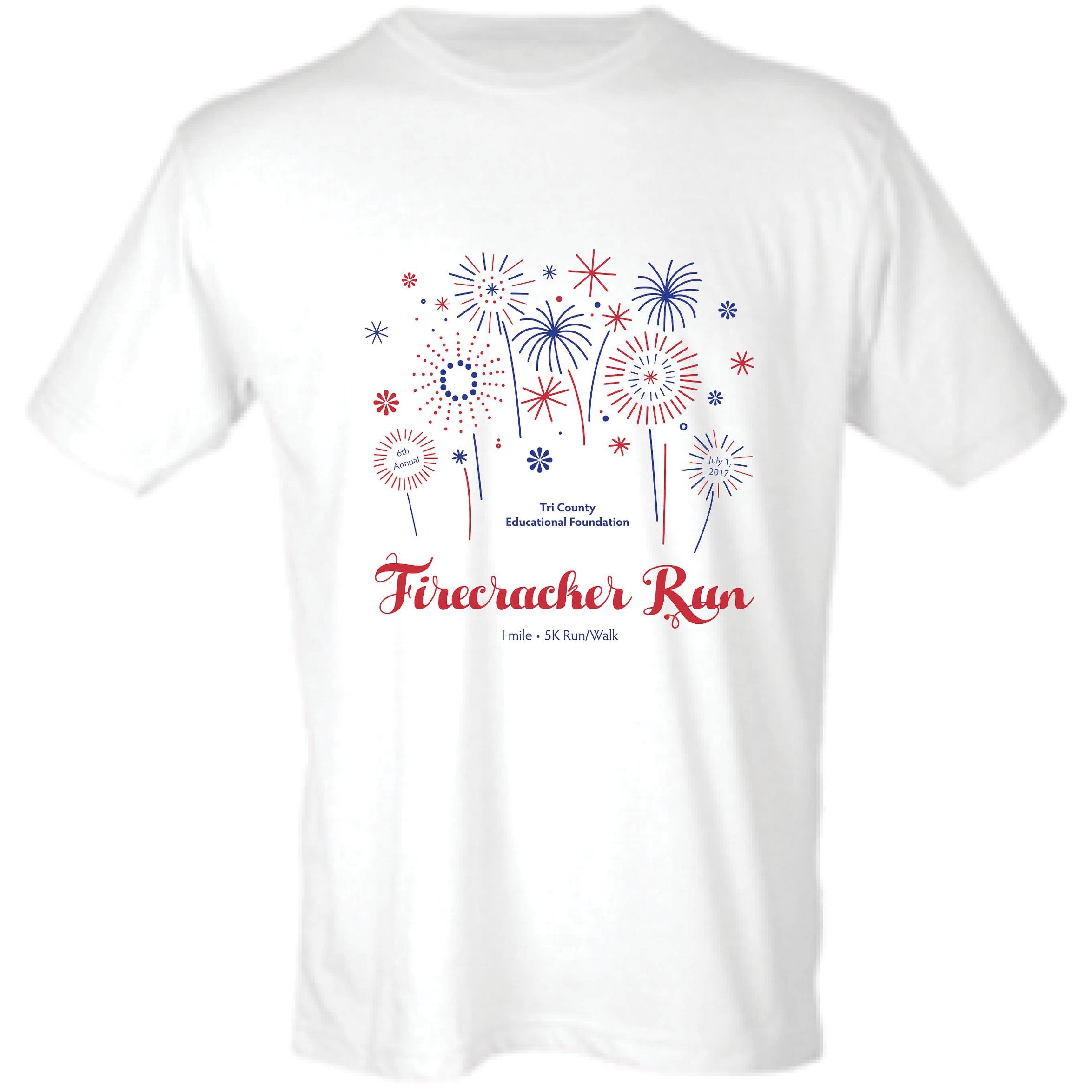 2017 Firecracker Run T-shirt