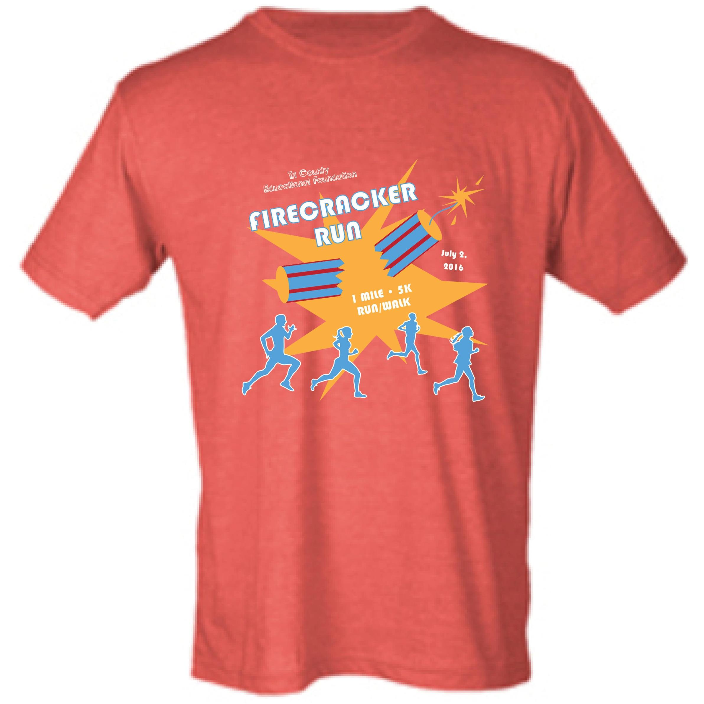 2016 Firecracker Run T-shirt