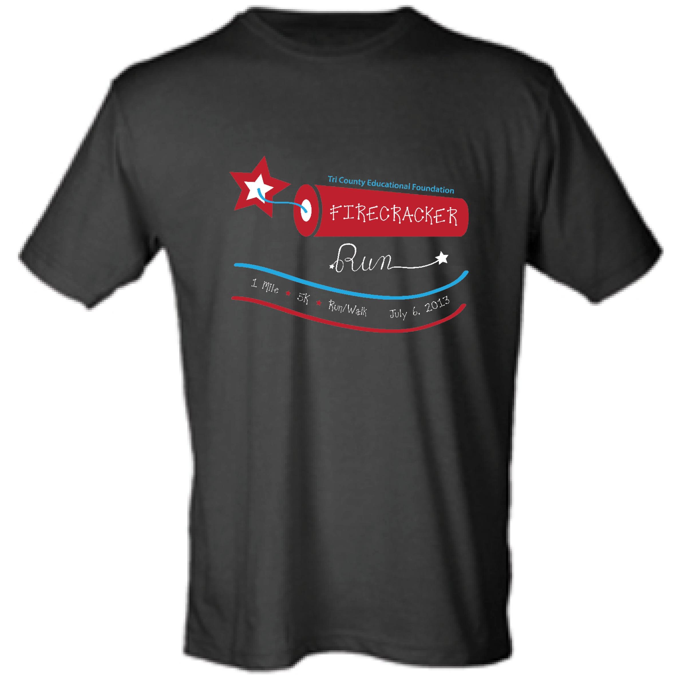 2013 Firecracker Run T-shirt