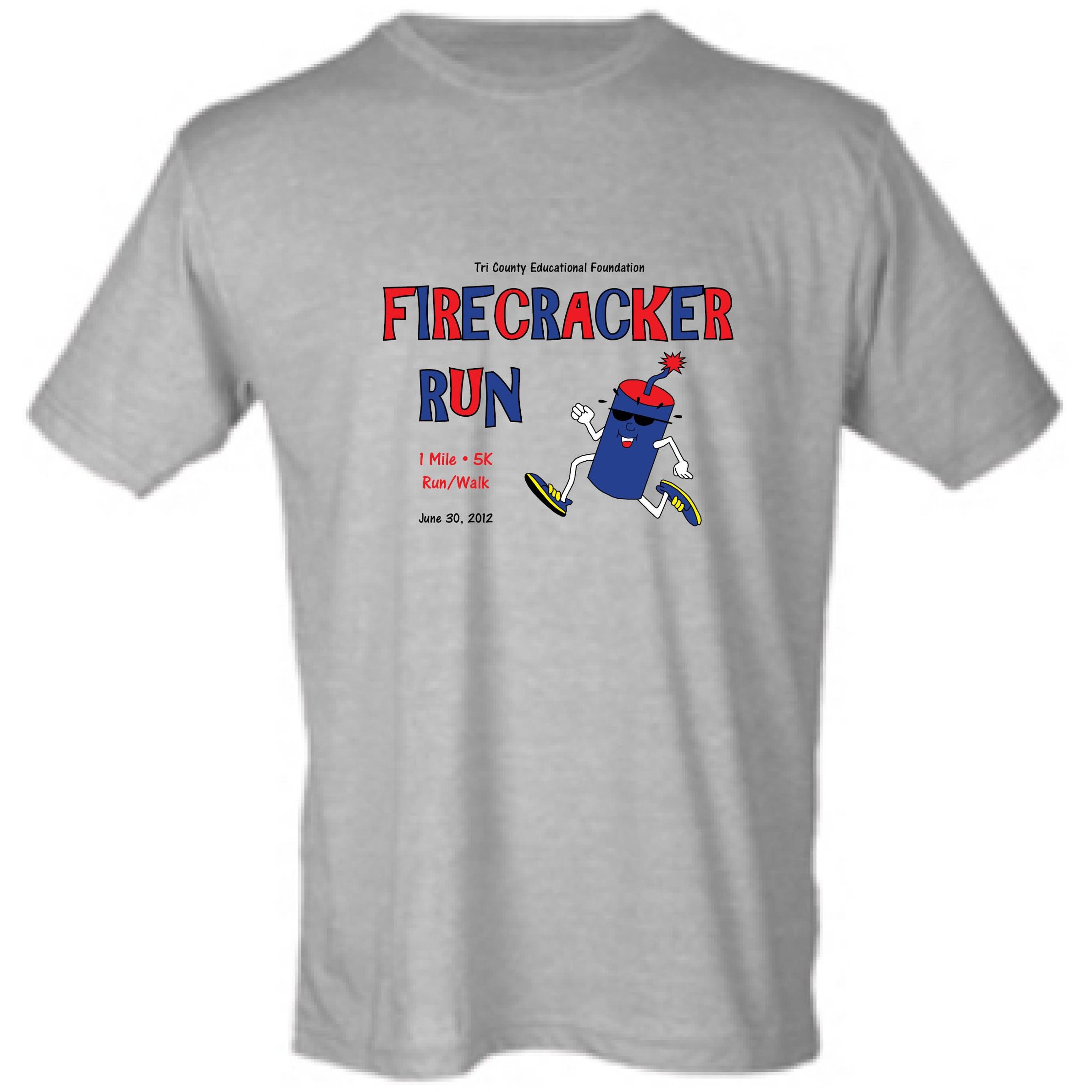 2012 Firecracker Run T-shirt