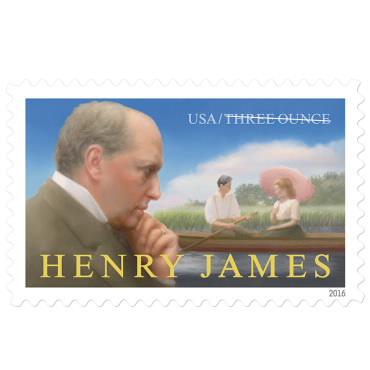 3 oz. Stamp (2 oz. square envelope) - Henry James - $0.85