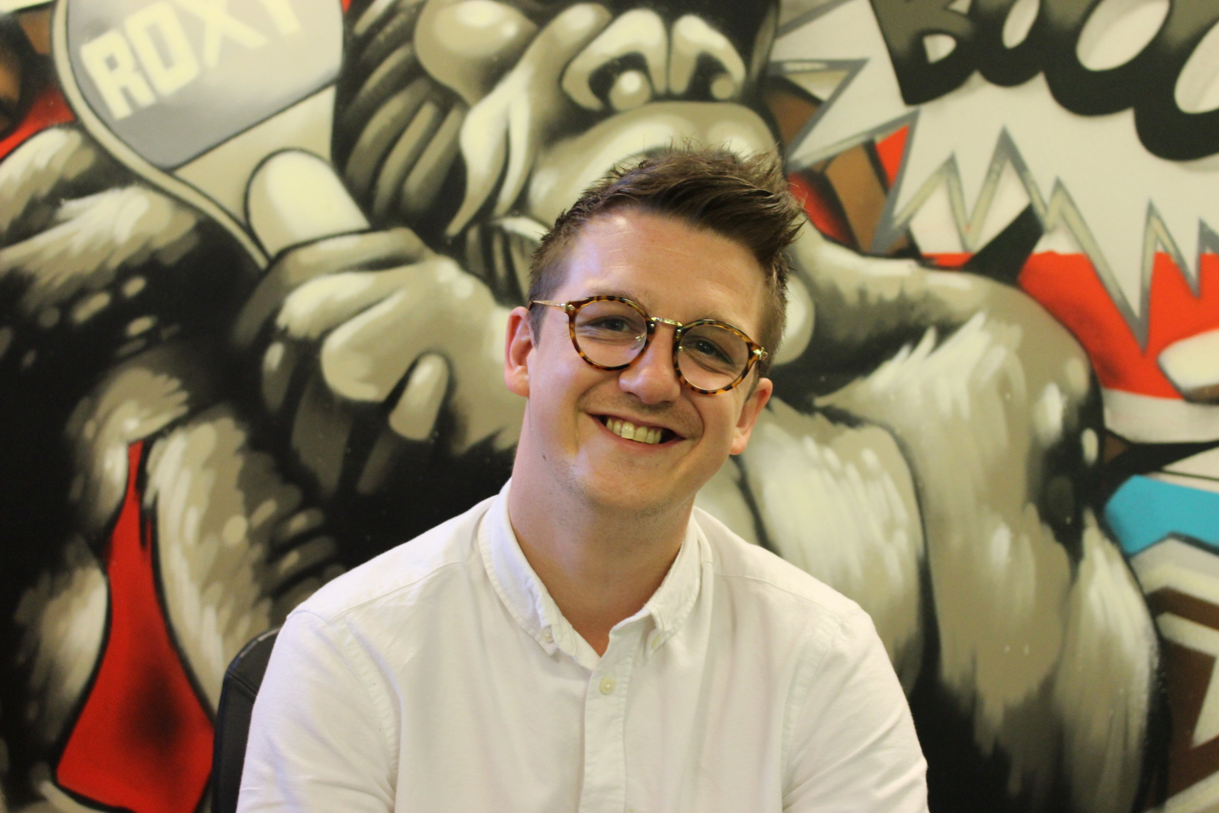 JOEL MITCHELL - BRAND DEVELOPMENT MANAGER - Joel is responsible for the branding and PR campaigns that drive the business. He is key in devising the wider marketing strategies and creating the buzz around new openings.
