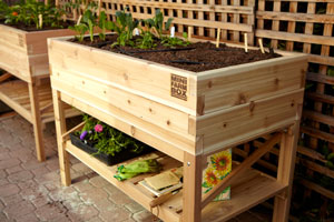 We also specialize in small space garden products for customers with limited space to grow.