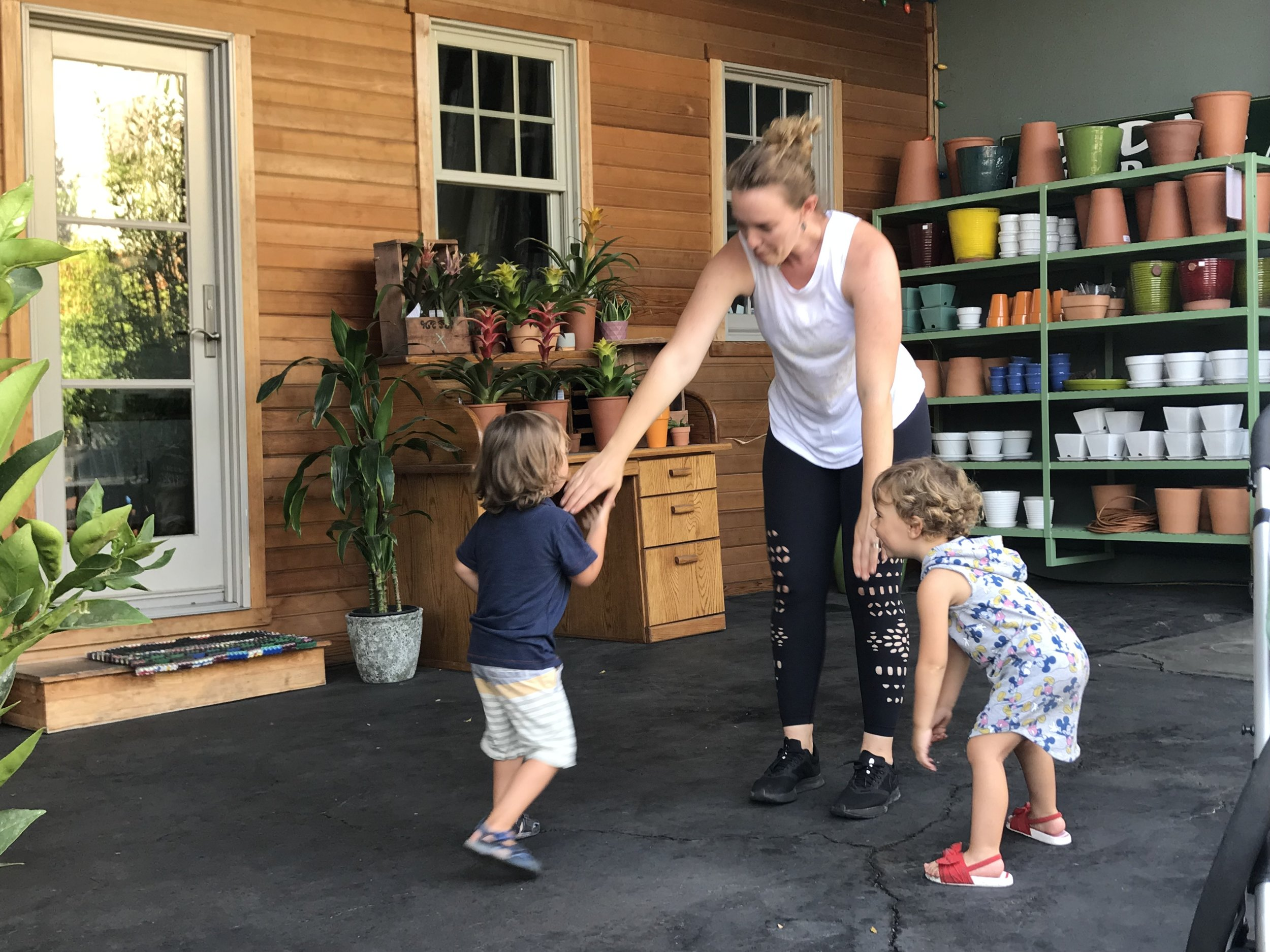 Yoga For Gardeners - Maya Siklai teaches yoga for all types of gardeners, young and old! Classes scattered throughout the summer.
