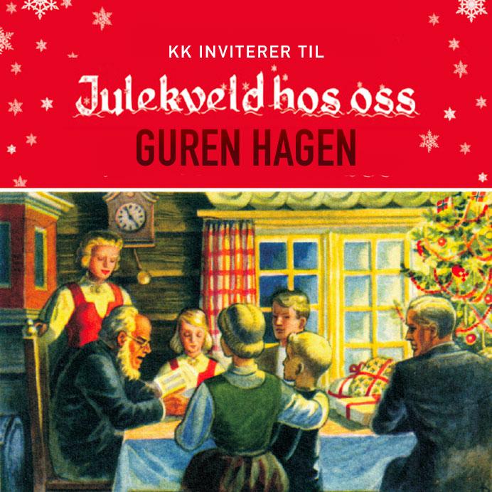 Vi har invitert familie og venner til julekonsert med Guren Hagen.